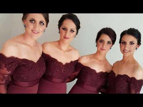 Damas De Honor Vestidos Dama De Honor Youtube