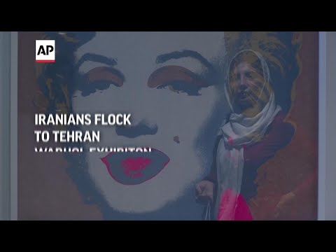 American pop artist's works on display in Tehran