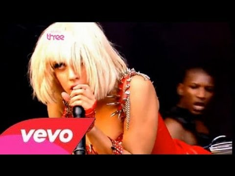 Lady Gaga - Boys Boys Boys & Money Honey (Glastonbury Festival 2009) Part 2/4