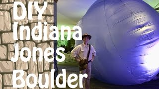 DIY Indiana Jones Boulder