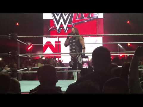 AJ Styles vs Braun Strowman WWE Live Puerto Rico