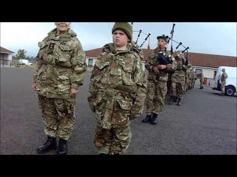 How Highland Cadets Return From Fieldcraft