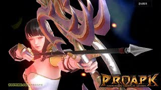 AxE Alliance X Empire - Archer - Android / iOS Gameplay (Open World MMORPG) (1080p/60fps) (KR)