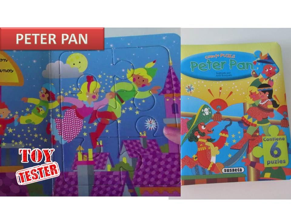 Libro Puzzle Peter Pan Cuentos Infantiles Para Niños