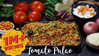 Tomato Pulao  Tomato rice recipe