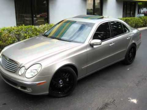 2003 MERCEDES-BENZ E-CLASS E500 (SUNRISE, Florida) - YouTube