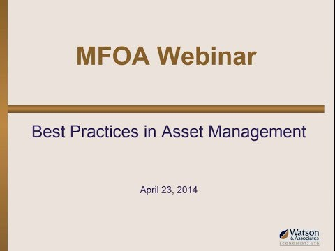 Best Practices in Asset Management