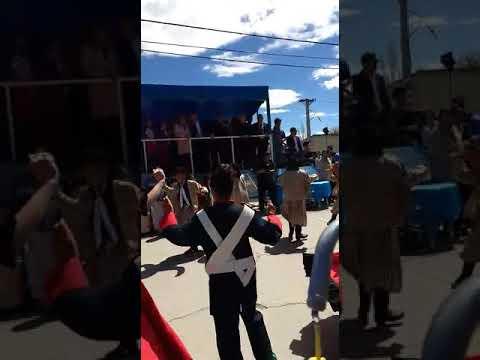 Baile de folklore (chamame) para gobernador