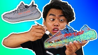 I Made Yeezys Using a 3D PEN!