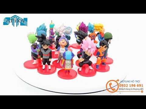 Figure set: 7 Viên Ngọc Rồng Dragon Ball Bộ 6 Con