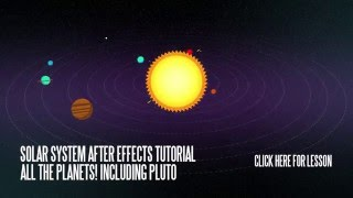 Solar System in After Effects Tutorial Teaser