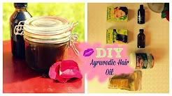 DIY henna, amla and brahmi hair oil (ayruvedic)