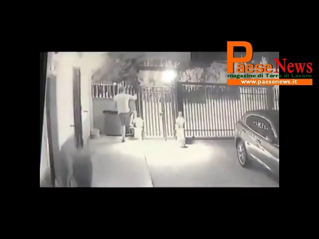 sparanise ladri in azione