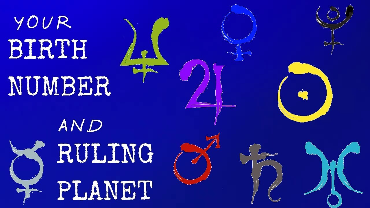 Your Birth Number and Its Ruling Planet - Simona Rich