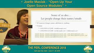 LIGHTNING TALK: Joelle Maslak -