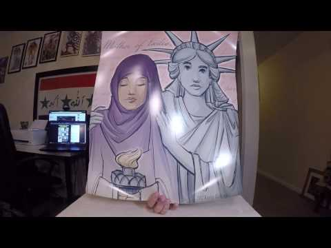 Unboxing the Refugee Posters from DFTBA