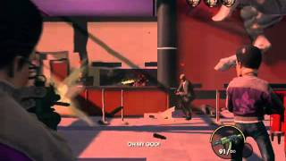 Saint's Row: The Third Gameplay - When Good Heists Go Bad Mission - Part 1 - PC