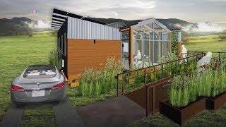 Дом будущего, со своими источниками энергии и ресурсами