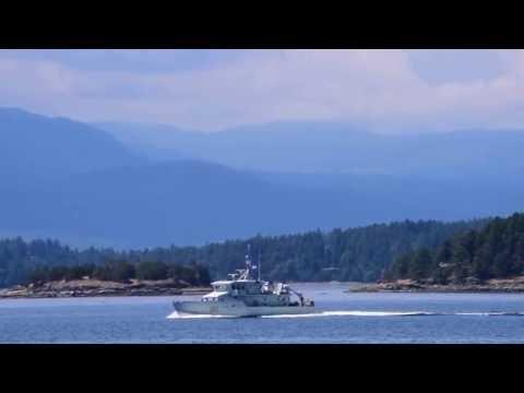 Navy patrol vessel Grizzly No. 60 July 6, 2016