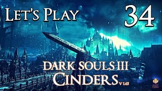 Dark Souls 3 Cinders (1.65) - Let's Play Part 34: Curse of Wrath Too Stronk