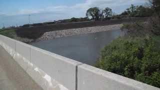 Tman crosses over the Red River into North Dakota