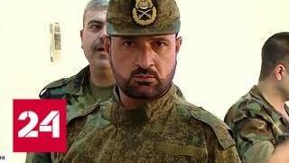 Эксклюзивный репортаж из штаба генерала Сухеля в Меядине - Россия 24