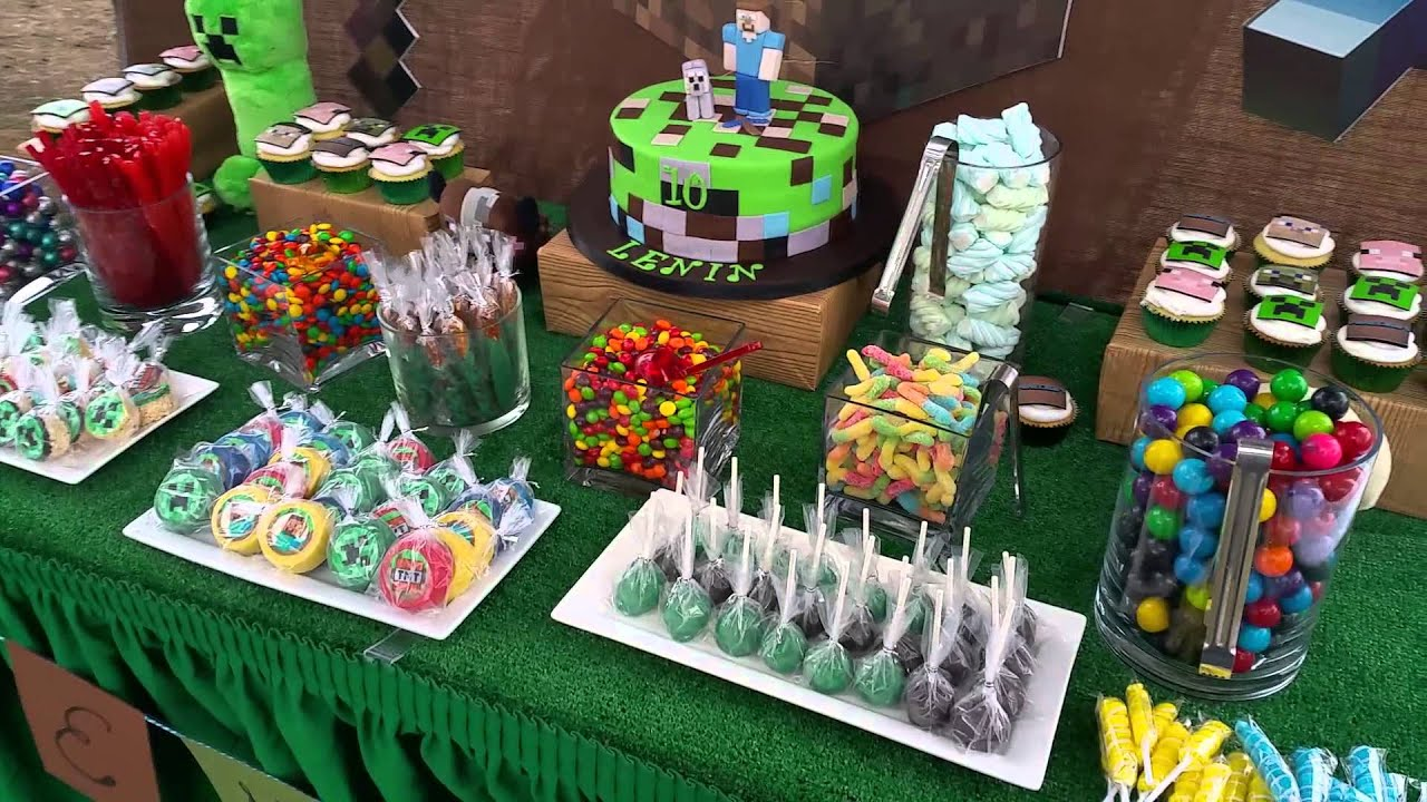 Minecraft candy bar youtube - Decoraciones de bares ...