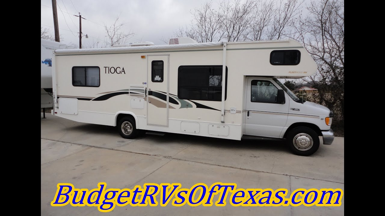 Easy To Drive Low Mile Class C RV Sleeps 8 2003 30FT Tioga