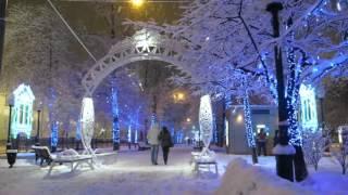 Зима у Покровских ворот(Москва, бульвары., 2015-12-15T22:13:24.000Z)