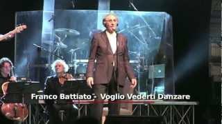 Voglio Vederti Danzare - Franco Battiato Live [MM62-10]