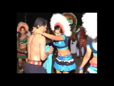 Karakattam hot double meaning with sexy village dance show