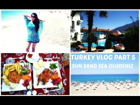 Turkey Travel Vlog Part 5 || Oludeniz || Beach Time || Clothes and Creativity