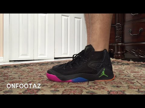0cf8f47a270 Air Jordan Melo M12 The Dungeon On Foot - YouTube