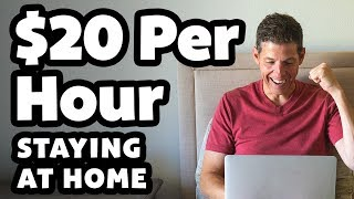 5 Websites That Pay $20 Per Hour To Sit At Home