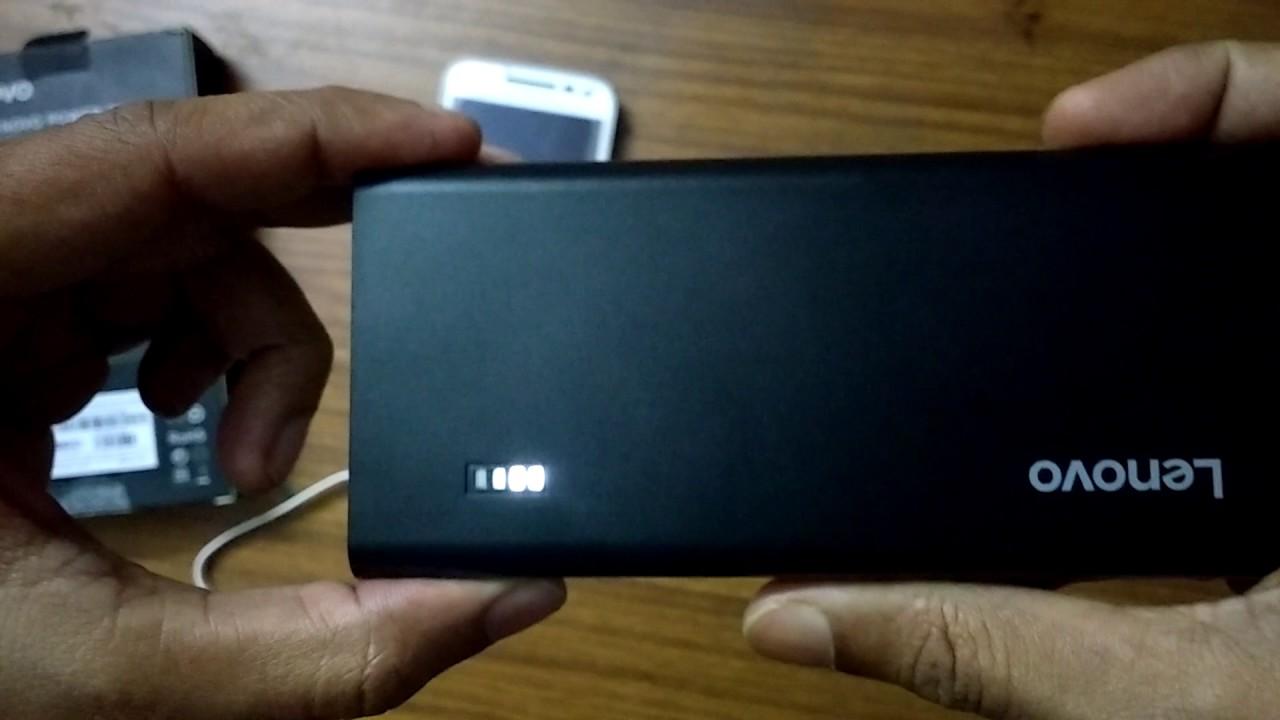 Lenovo Power Bank 10400 Mah Model Pa10400 Youtube