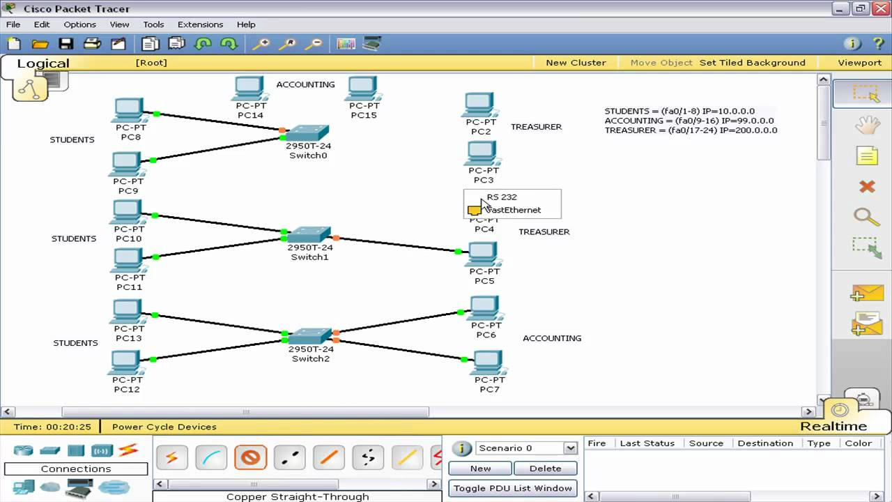 CISCO Switch VLAN Part 1 Packet Tracer (Tagalog Tutorial ...