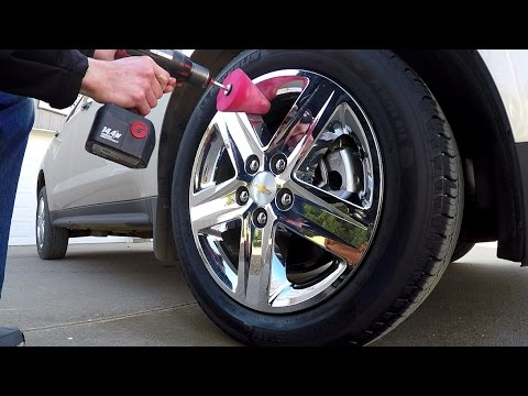 How To Polish Chrome Wheels - Remove Light Oxidation In 20 Minutes