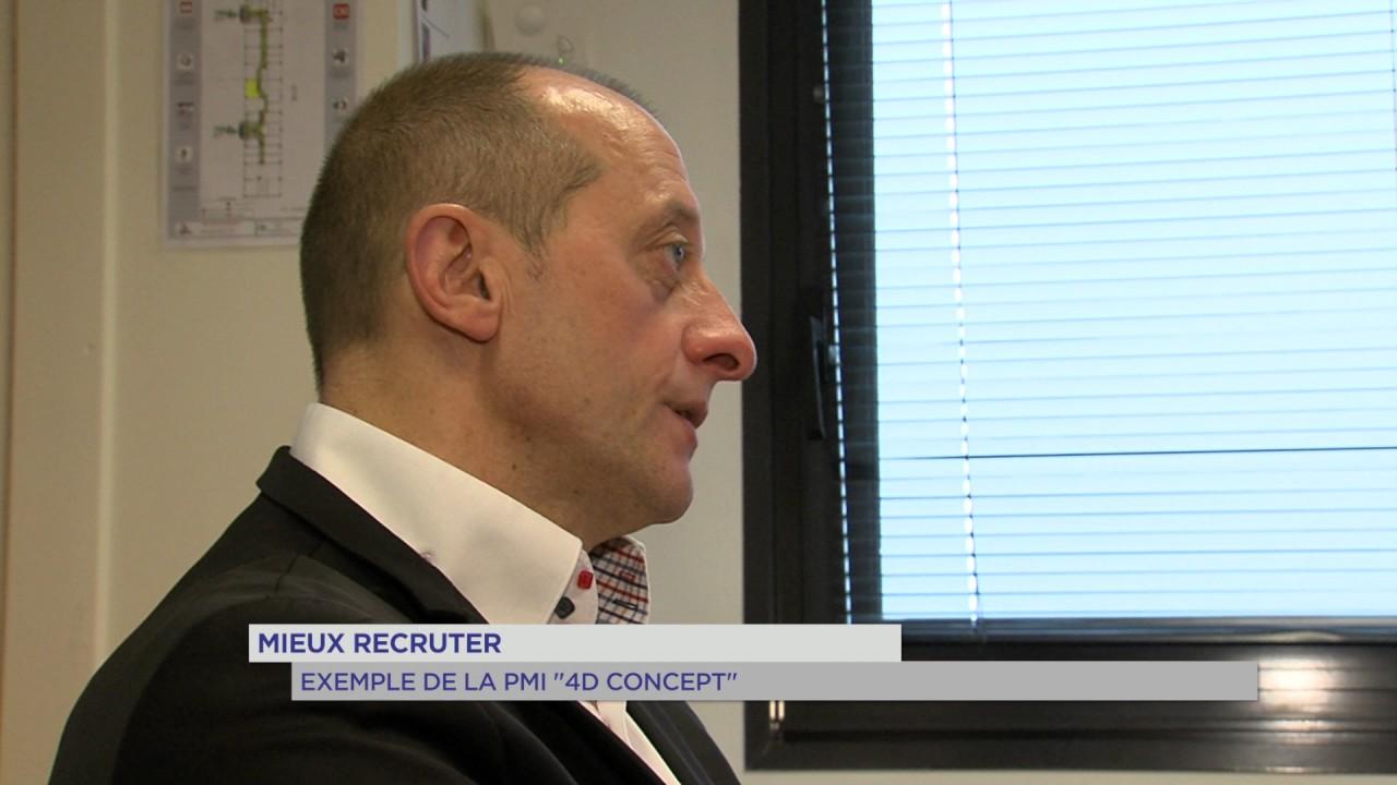 """Mieux recruter : exemple de la PME """"4D concept"""""""