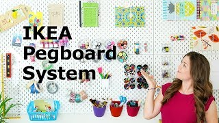 My New IKEA SKÅDIS Pegboard Setup | Sea Lemon