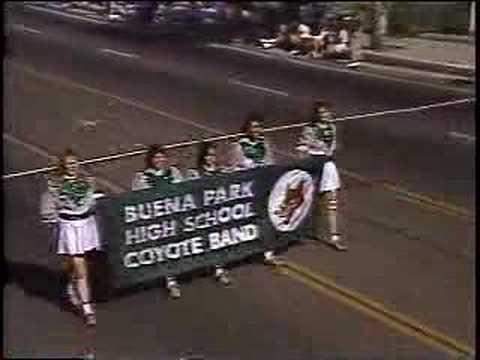 Buena Park HS at 1990 La Palma Band Review