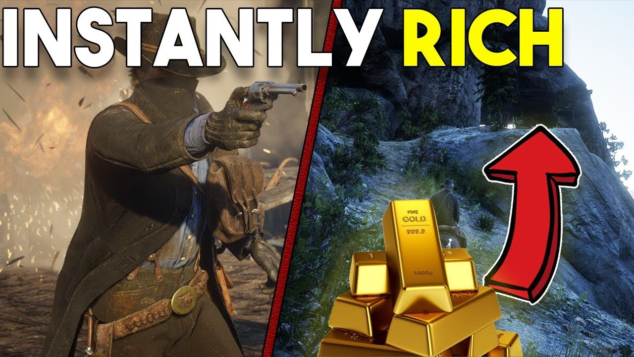 How to Get INSTANTLY RICH! - Red Dead Redemption 2 - FAST MONEY EASTER EGG