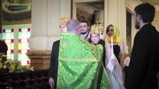Венчание в Кафедральном Соборе г.Алма-Ата