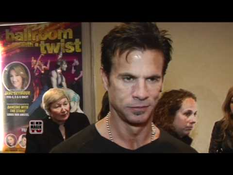 Lorenzo Lamas Actor Interview on the Red Carpet at Ballroom with a Twist