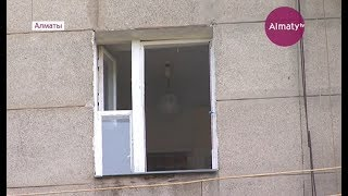 Алматыдағы тұрғын үйлердің бірінде газ баллоны жарылды (12.07.17)