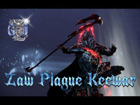 Warframe - Zaw Plague Keewar - Insane Build. - YouTube