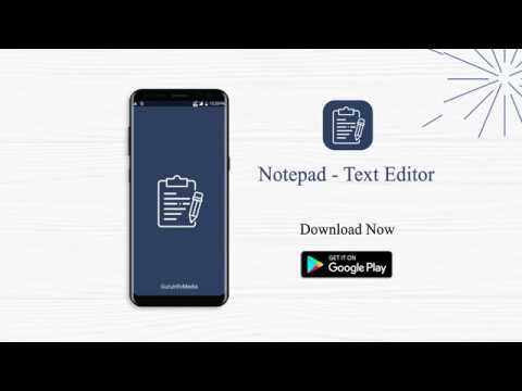 Notepad - Text Editor - (Android App On Google Play)