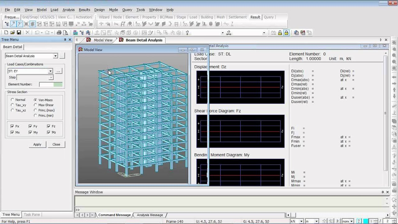 concrete building design from modeling to drawings youtube