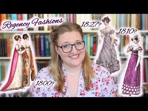 A Beginner's Guide To Regency Fashion || How It Changed Over 30 Years