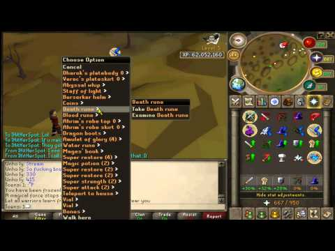 Runescape - Toensi1 Mid Level Mini Wizard