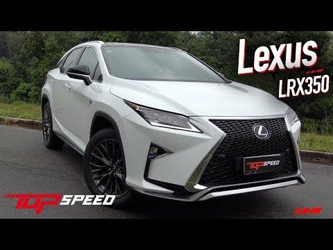 Avaliação Lexus RX350 + Cena Inusitada  | Canal Top Speed